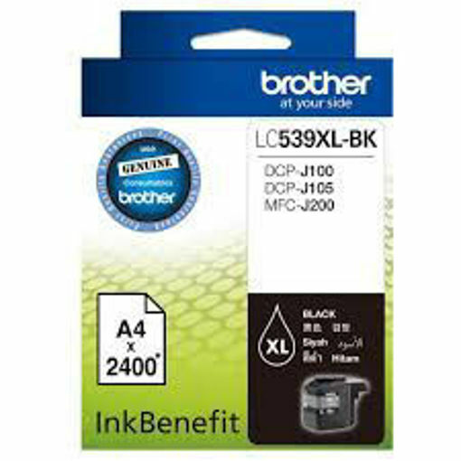 Picture of BROTHER 539XL BLACK
