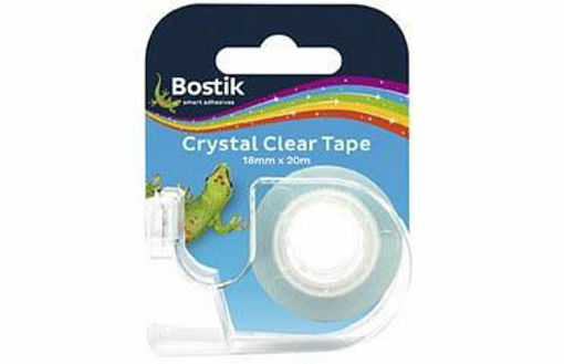 Picture of BOSTIK CRYSTAL CLEAR TAPE 18mmx20m