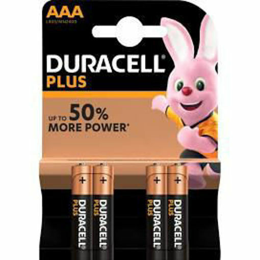 Picture of DURACELL AAA 4's