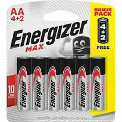Picture of ENERGIZER AA 6's