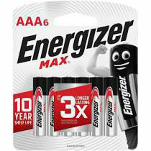 Picture of ENERGIZER AAA 6's